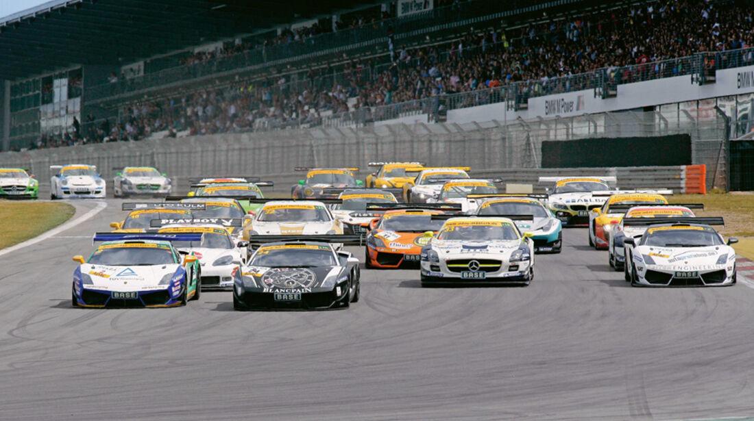 ADAC GT-Masters, Startphase, 40 Autos