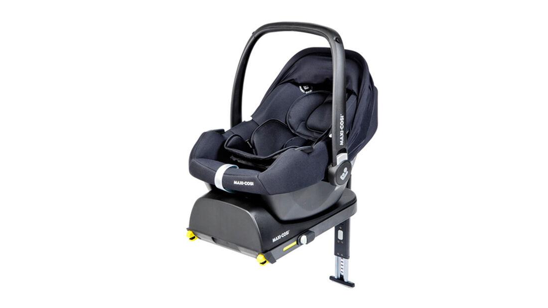 ADAC Kindersitz-Test 2021 Maxi Cosi Tinca + Tinca Base