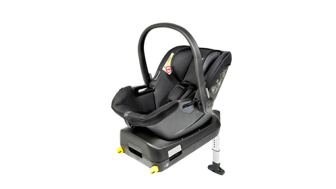 ADAC Kindersitz-Test 2021 Silver Cross Simplicity Plus + Simplifix Isofix base