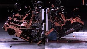 ADAC Lego Porsche 911 GT3 Crashtest