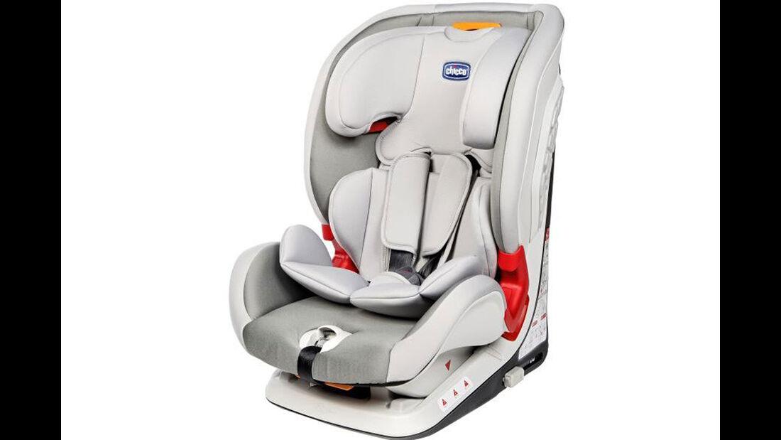 ADAC/ÖAMTC Kindersitz-Test Frühjahr 2018 Chicco-Youniverse-Fix