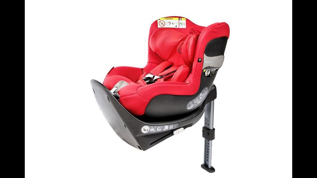 ADAC/ÖAMTC Kindersitz-Test Frühjahr 2018 Cybex-Sirona-S-i-Size
