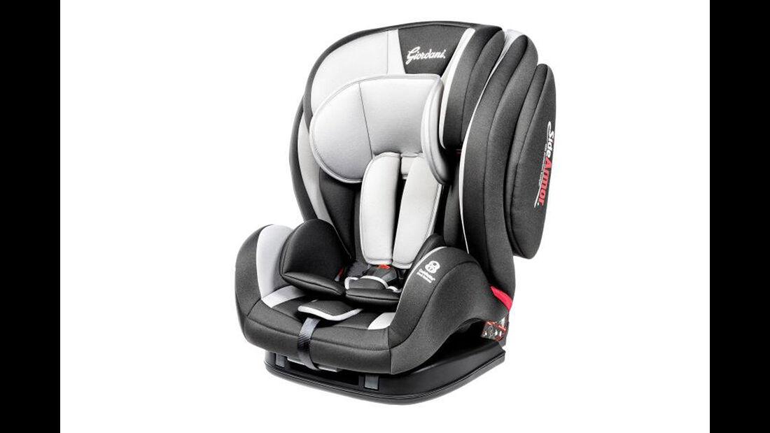 ADAC/ÖAMTC Kindersitz-Test Frühjahr 2018 Giordani-Evolution-Isofix