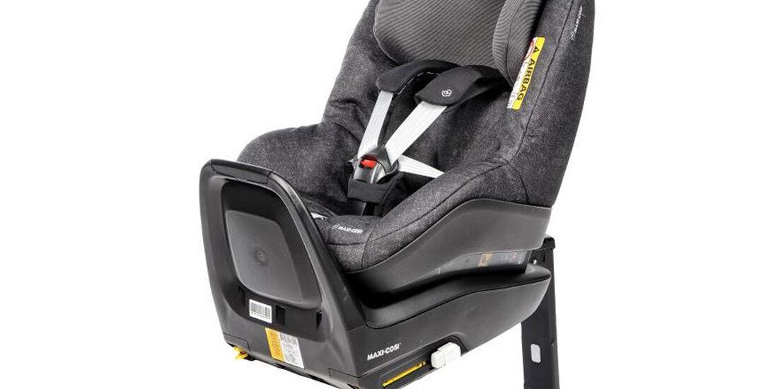 ADAC/ÖAMTC Kindersitz-Test Frühjahr 2018 Maxi-Cosi-Pearl-ONE