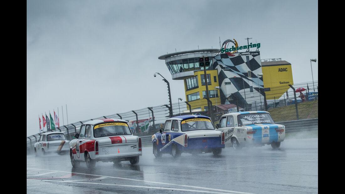 ADAC Sachsenring Classic, Rennen, Regen