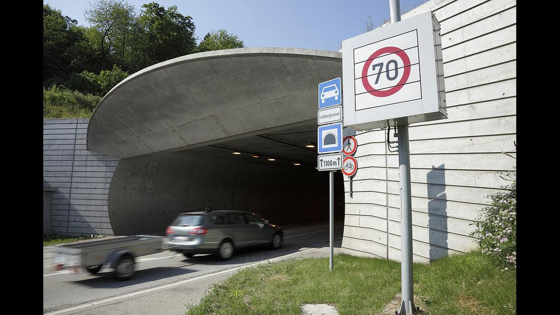 ADAC Tunneltest 2010, Lohberg bei Darmstadt