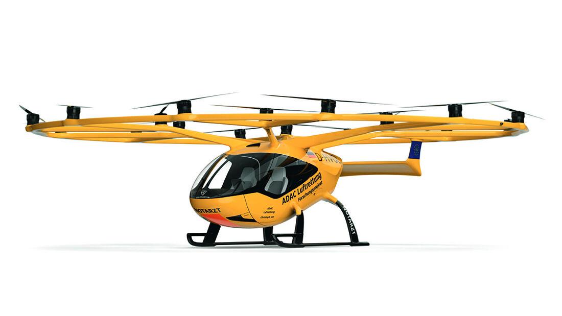 ADAC Volocopter Flugrettung