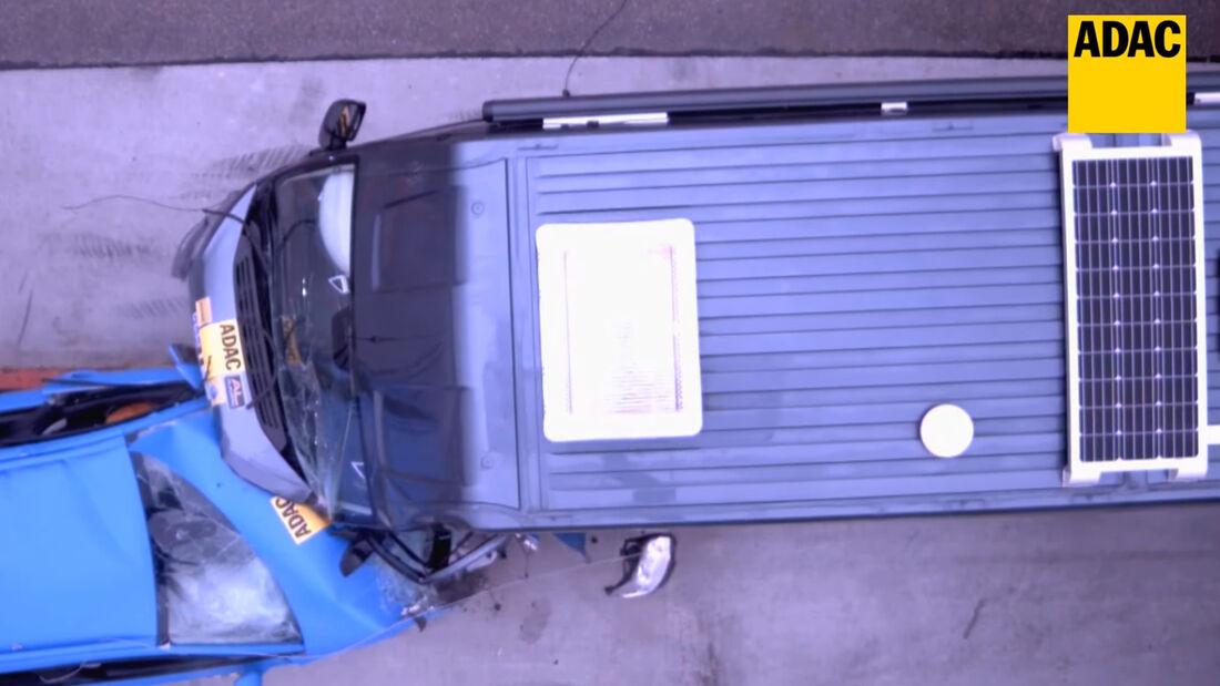 ADAC Wohnmobil Crashtest