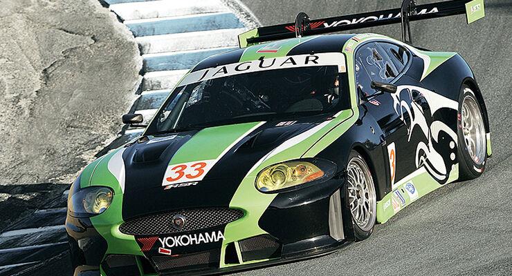 ALMS Jaguar XKR GT 2010