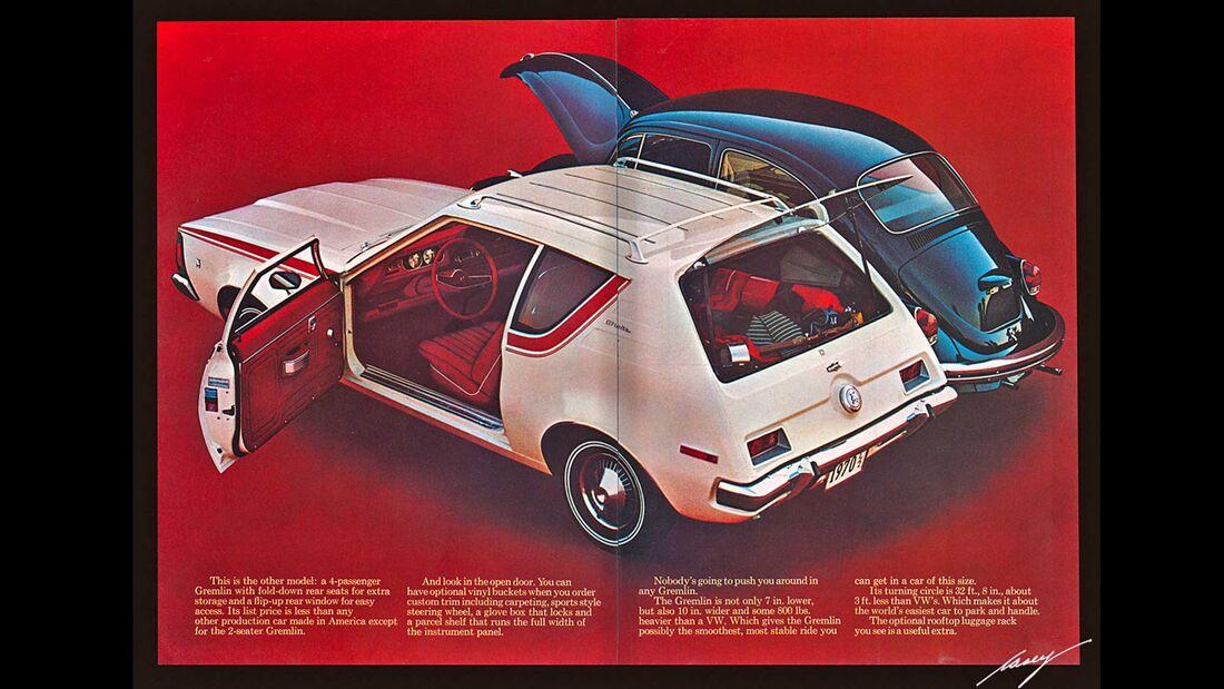 AMC Gremlin Werbung 1971