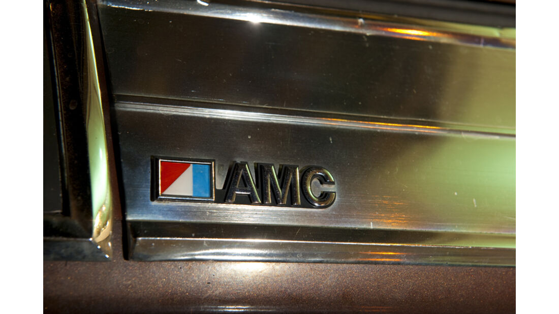 AMC Pacer Limited V8 - Schriftzug und AMC-Logo