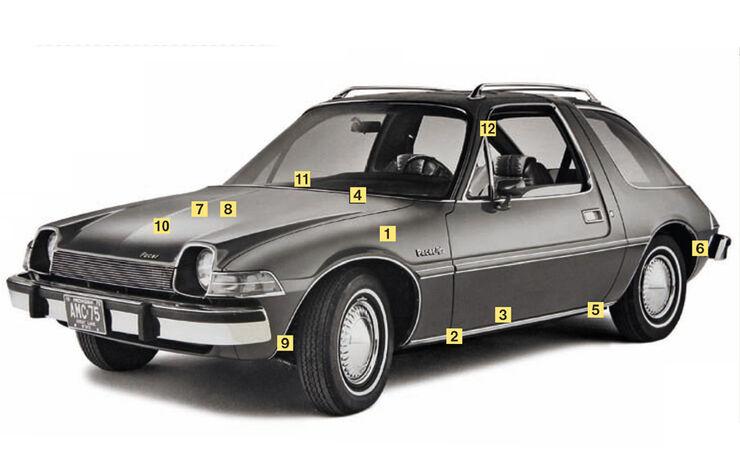 AMC Pacer V8