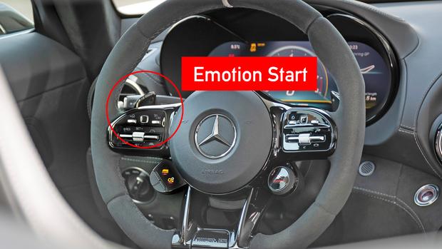 AMG Emotion Start-Funktion