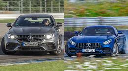 AMG GT und E-Klasse Mercedes