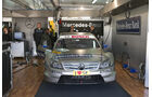 AMG Mercedes C-Klasse von Bruno Spengler in der Box