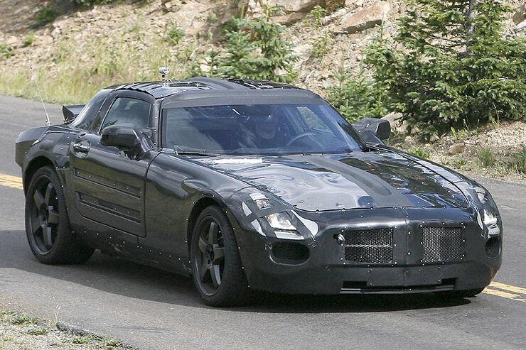 AMG Mercedes-Gullwing, Erlkönig