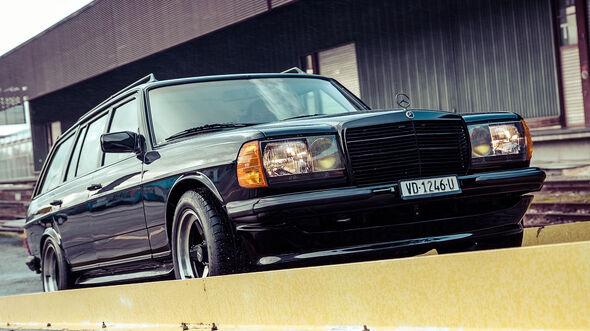 AMG Mercedes S 123 500 TE
