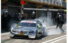 AMG Mercedes startet aus der Box - DTM Valencia 2010