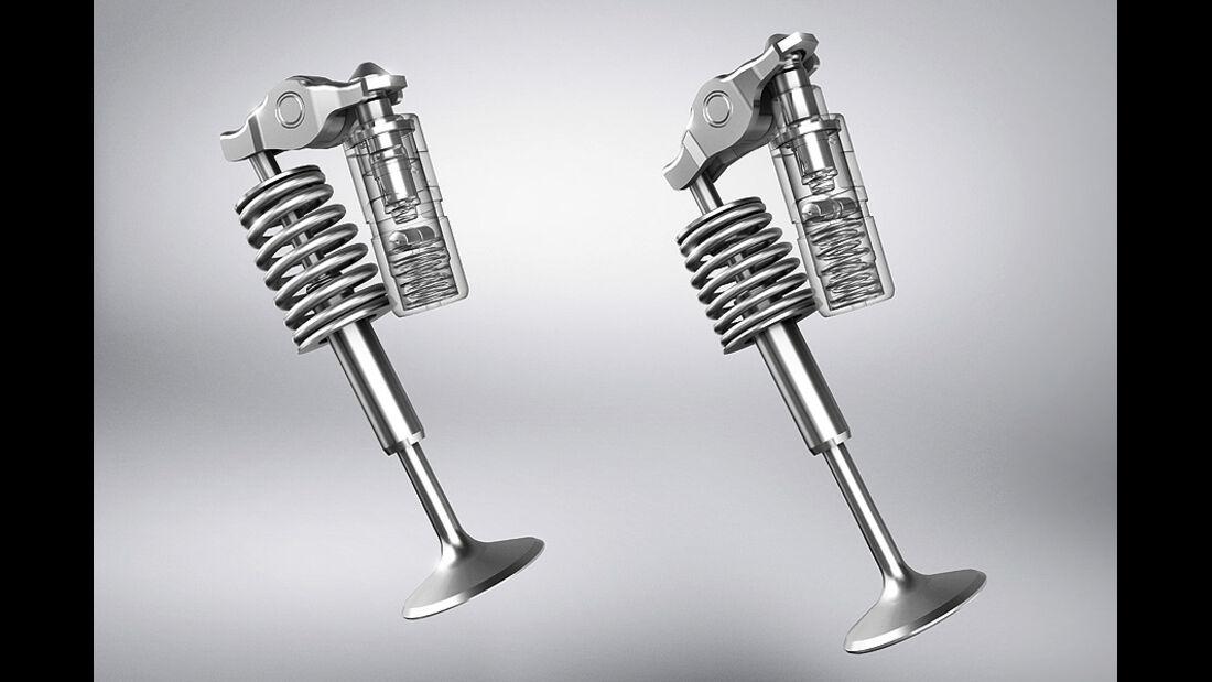 AMG-Motoren, V8, Stellelemente