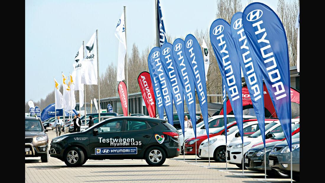 AMI Leipzig, Messestand, Hyundai