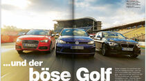 AMS Heft 05 Audi S3, BMW M135i xDrive, VW Golf R