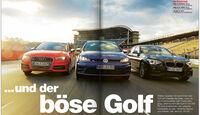 AMS Heft 05 Audi S3, BMW M135i xDrive, VW Golf R