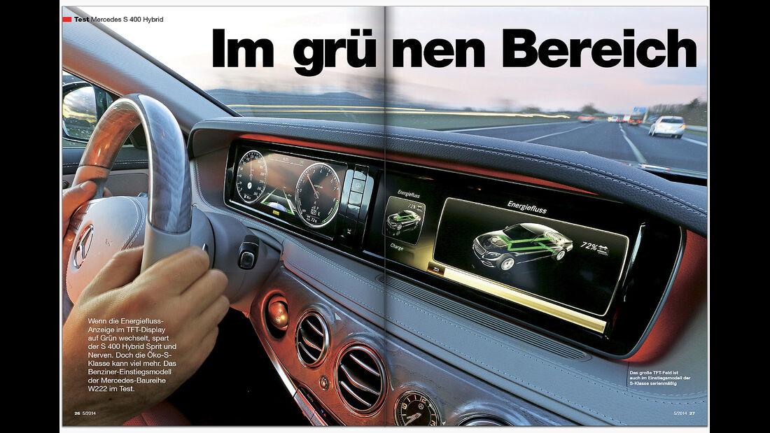 AMS Heft 05 Mercedes S-Klasse Test