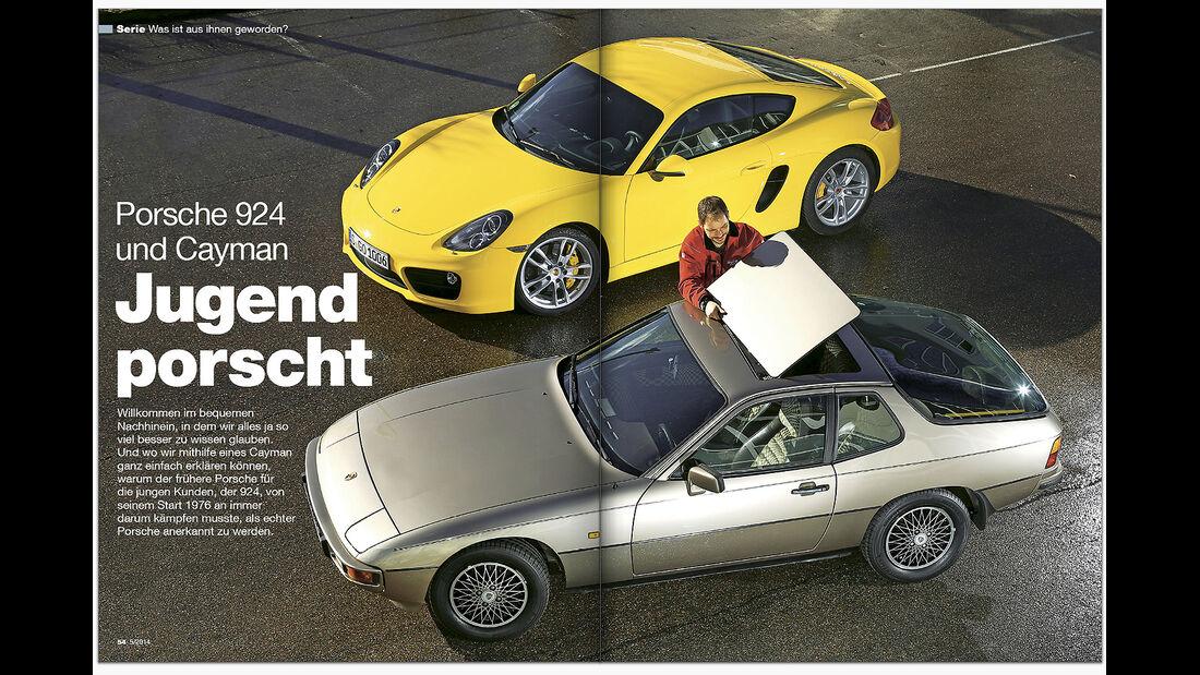 AMS Heft 05 Porsche 924 und Cayman