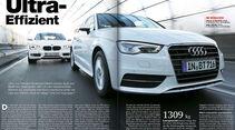 AMS Heft 1 2014, BMW Audi Vergleichstest