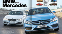 AMS Heft 1 2014, BMW gegen Mercedes
