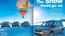 AMS Heft 1 2014, Kompakte SUV Vergleichstest