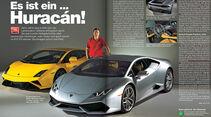 AMS Heft 1 2014, Lamborghini Huracán