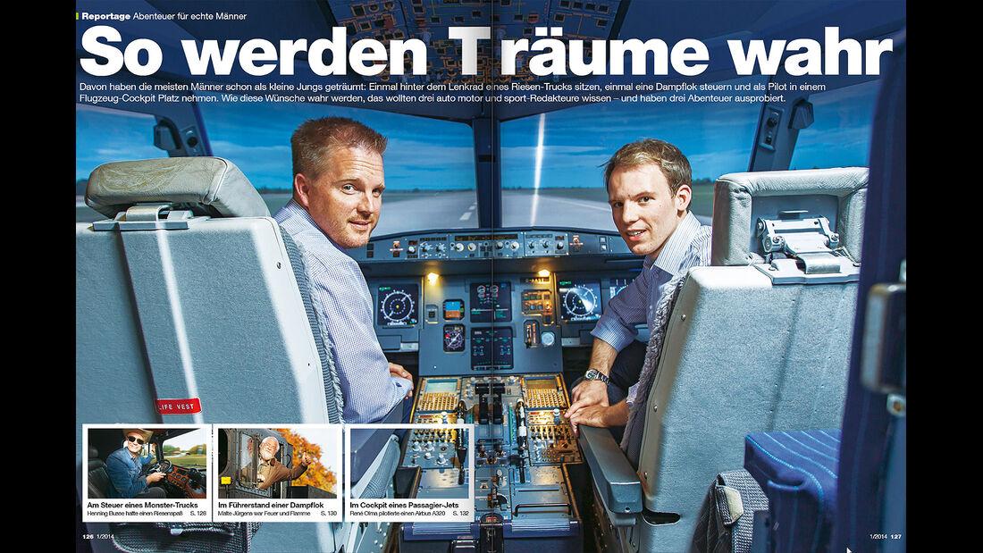 AMS Heft 1 2014, Männerträume