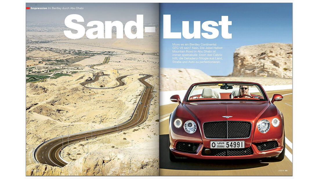 AMS Heft 2 2014 Impression Bentley GTC V8