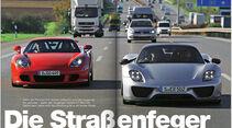 AMS Heft 24/2013 Porsche 918 Spyder / Porsche Carrera GT