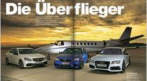 AMS Heft 24/2013 Vergleichstest Audi RS7, BMW M5, MB E 63 AMG