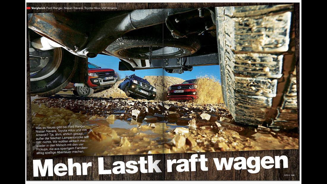 AMS Heft 3 2014 Vergleich Pickups