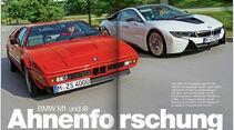 AMS Heft 4 2014 Serie BMW M1 und i8