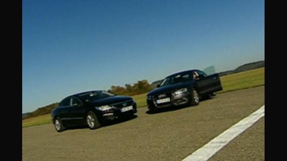 AMS TV Audi A5 vs VW Passat CC
