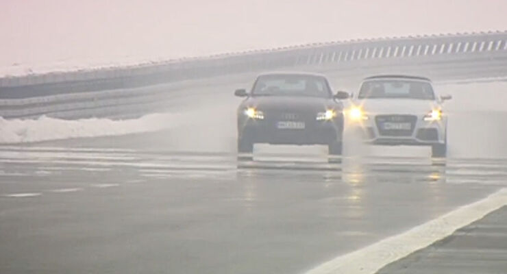 AMS TV Audi Testfahrer