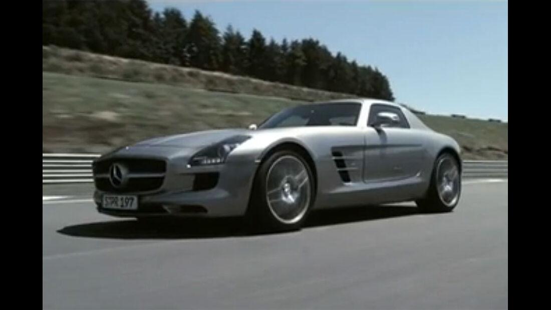 AMS TV Mercedes SLS AMG