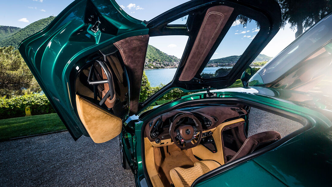 ARESE RH95 by Touring Superleggera