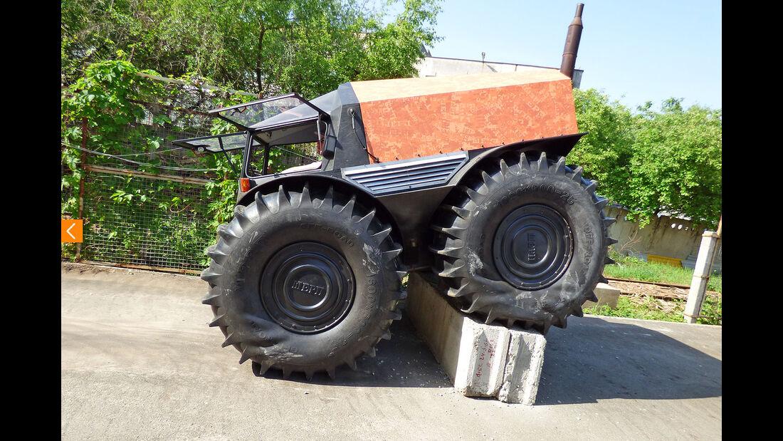 ATV Sherp Amphibien-Fahrzeug