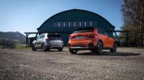 AUDI A1 CITYCARVER 30 TFSI, VW T-CROSS 1.0 TSI, Exterieur
