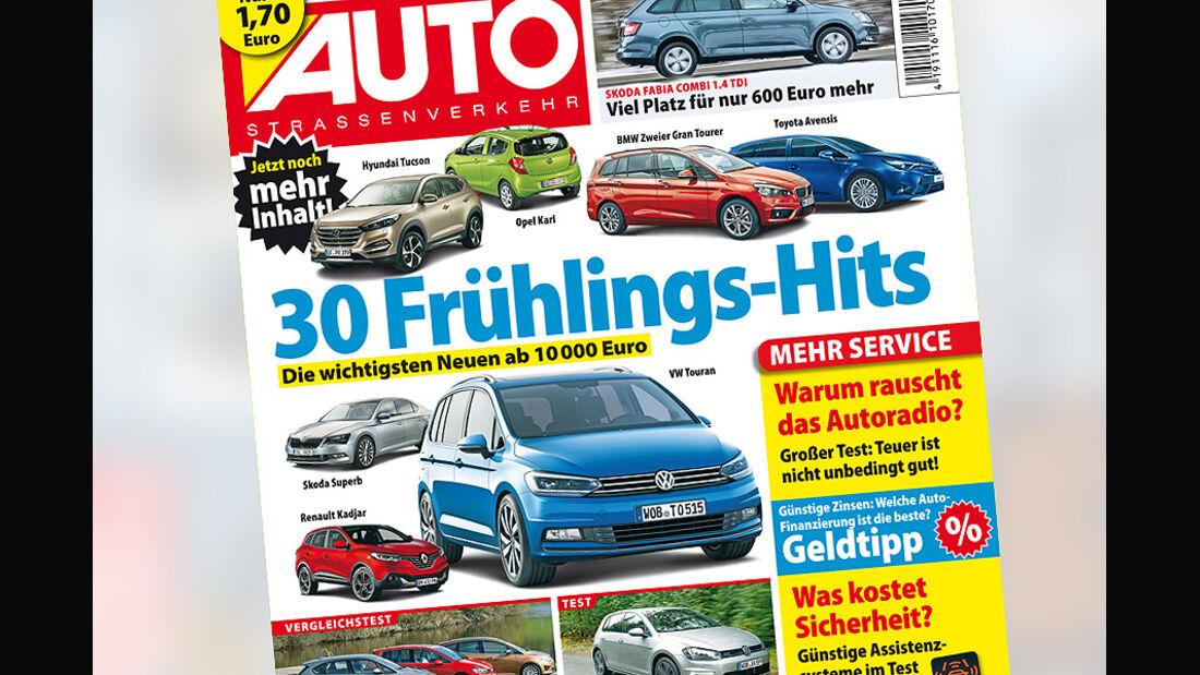 AUTOStraßenverkehr 6 / 2015 Titel