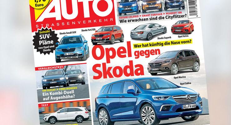 AUTOStraßenverkehr 7 / 2015 Titel