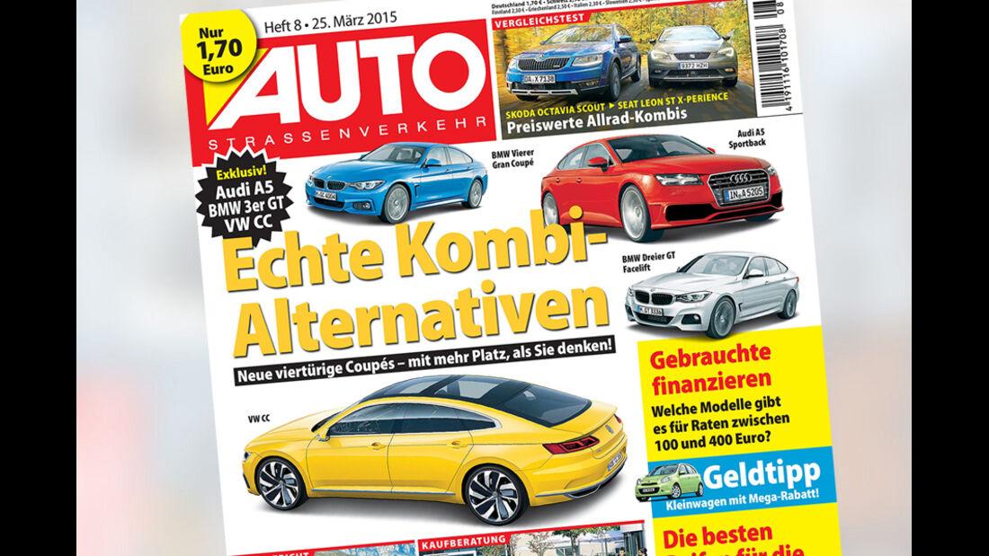 AUTOStraßenverkehr 8 / 2015 Titel