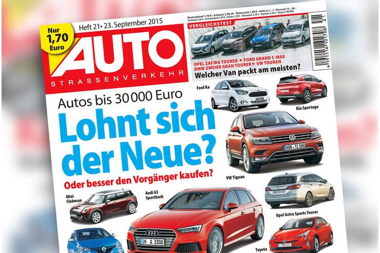 AUTOStraßenverkehr, Heft 21, Titel, Vorschau, Preview