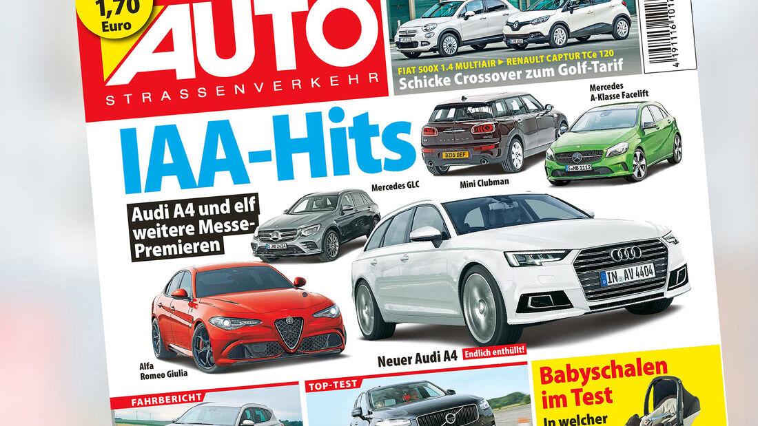 AUTOStraßenverkehr Titel 2015 Heft 15 Vorschau