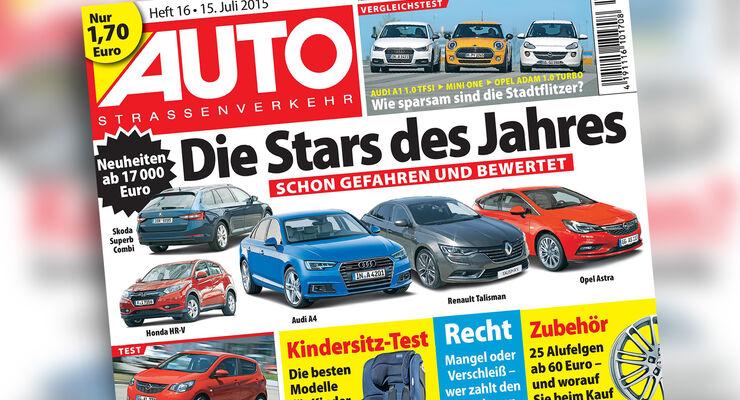AUTOStraßenverkehr Titel 2015 Heft 16 Vorschau